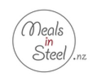 Meals In Steel Logo