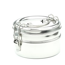 DOUBLE LAYER ROUND TIFFIN 16X10  cm