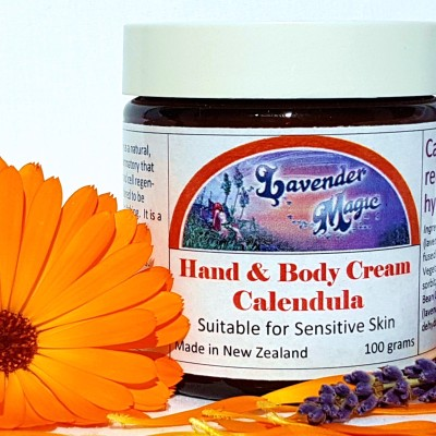 Calendula Cream for Hands and Body Image