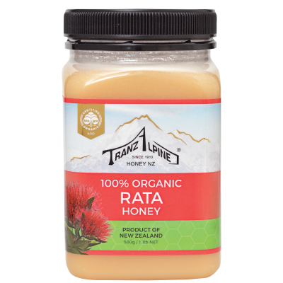Organic White Clover Honey Image