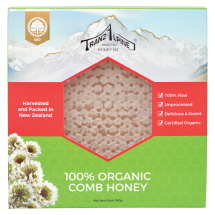Organic Comb Honey Image