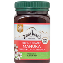 Organic Manuka Multifloral Honey MG50+