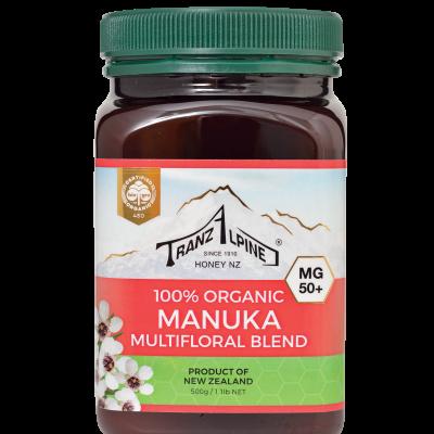 Organic Manuka Multifloral Honey MG50+ Image