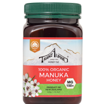 Organic Manuka Multifloral Honey MG150+