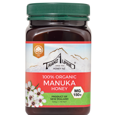 Organic Manuka Multifloral Honey MG150+ Image