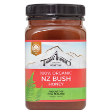 Organic New Zealand Bush Honey