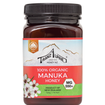 Organic Manuka Honey MG550+