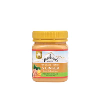 Organic Honey & Ginger Image