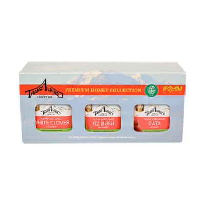 Premium Organic Honey Gift Pack 3 x 250g Image