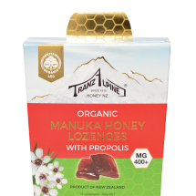 Organic Manuka Honey Lozenges MG400+