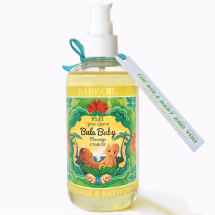 Bula Baby Oil Fragrance Free