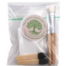 Eco Face paint/Makeup Applicator Set