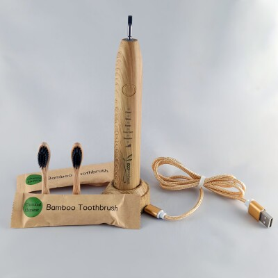Bamboo Sonic Electric Toothbrush Image