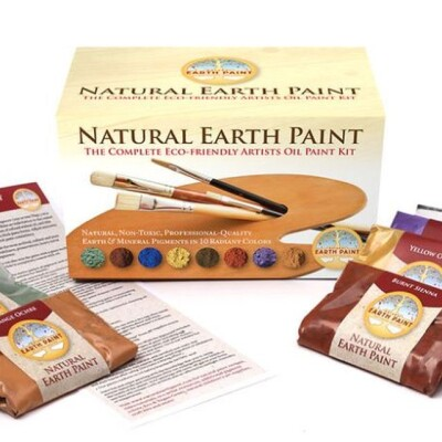 The Complete Eco-friendly Artists Oil Paint Kit Image