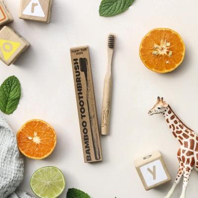 Kids Bamboo Toothbrush Image