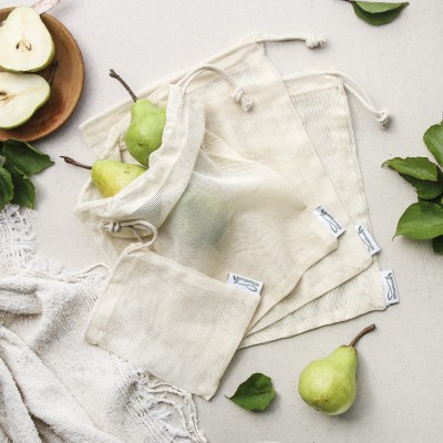 Fresh Produce Mesh Bags, Large Pack (4 bags) Image