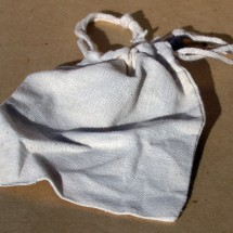 Cotton Washbags, Pack of 3