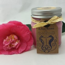 Raspberry and Vanilla Candle
