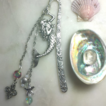 Mermaid Beaded Bookmark Image