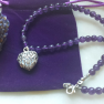 Amethyst Heart. Aroma Necklace Image