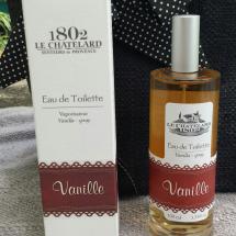 Vanilla Eau de Toilette. Le Chatelard 1802