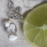 Citrine harmony necklace and Lemon essential oil Image