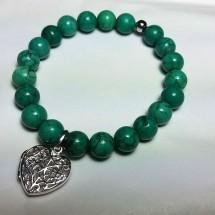 Turquoise Howlite Aroma Bracelet