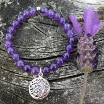 Amethyst Aroma Zen Bracelet Image
