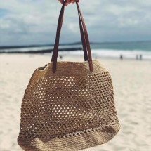 Diana French Crochet Bag