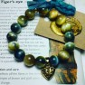 Blue Gold Tigers Eye Bracelet Image