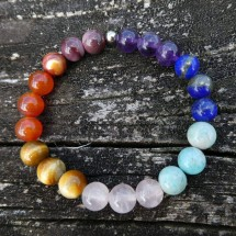 Chakra Bracelet. AA grade crystal beads