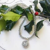Labradorite Aroma Zen Necklace
