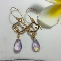 Ametrine Cloud Earrings