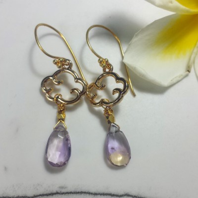 Ametrine Cloud Earrings Image