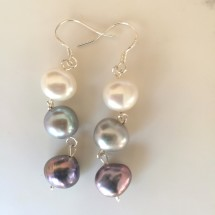 Ombre Pearl Earrings