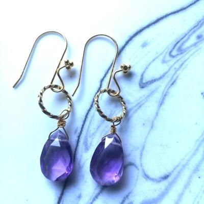 Amethyst Earrings Image