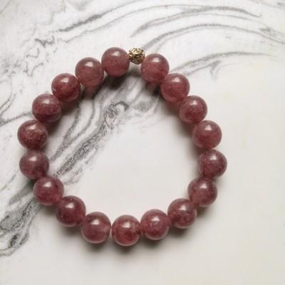 Strawberry Quartz Bracelet Image