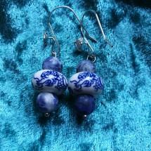 Chinoiserie Dragon Earrings
