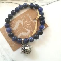 Sodalite Aromatherapy Bracelet