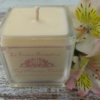 Mini Ginger Massage Candle Image