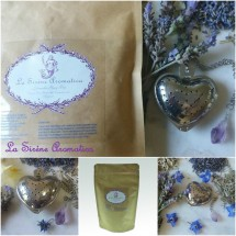 Amethyst Tea Infuser and Lavender Grey Tea