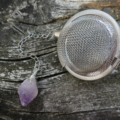 Amethyst Tea Ball Infuser Image