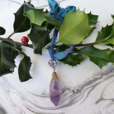 Amethyst Ornament Image