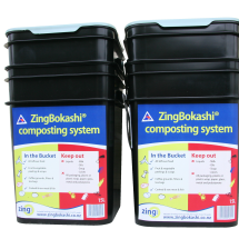 2 x15l ZingBokashi Composting kits -Value Pack