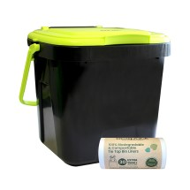 Kitchen Composter Caddy 7-8L with 30 Liners (ED-2000)