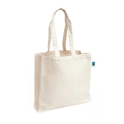 EC-51 Fairtrade Organic Cotton Tote Bag Image