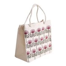 ECV-09 Canvas Kiwiana Pohutukawa Bag
