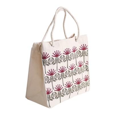 ECV-09 Canvas Kiwiana Pohutukawa Bag Image