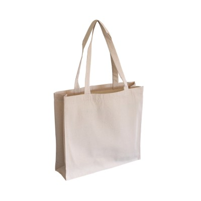 ECV-11 Canvas Tote Bag With Gusset Image