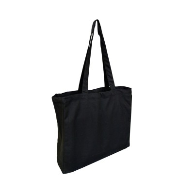 ECV-14 Tote With Gusset Black Bag Image